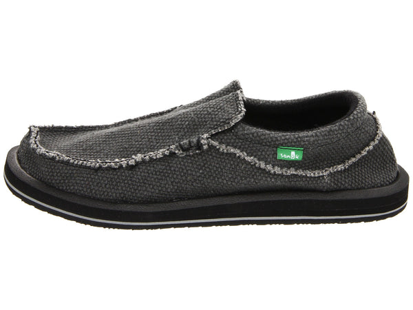 Sanuk Men's Chiba Shoe-Black - Bennett's Clothing - 2