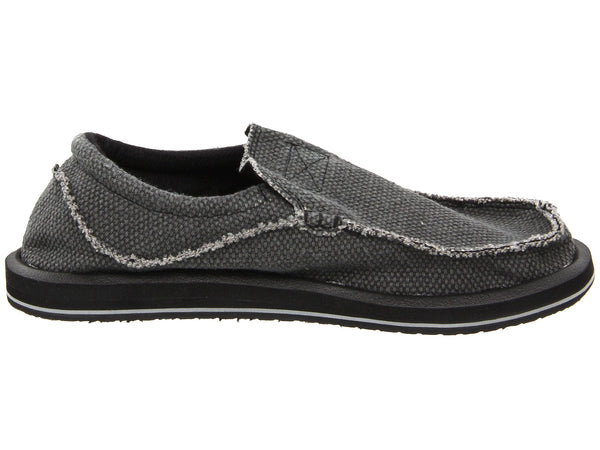 Sanuk Men's Chiba Shoe-Black - Bennett's Clothing - 4