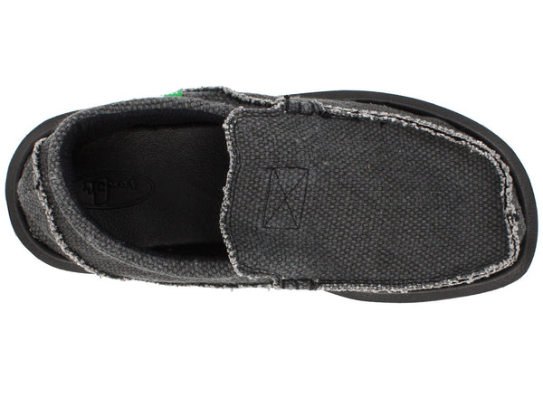 Sanuk Men's Chiba Shoe-Black - Bennett's Clothing - 6