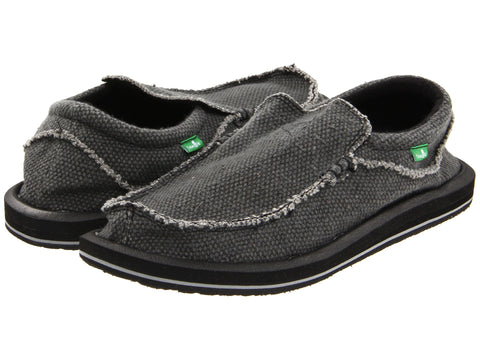 Sanuk Men's Chiba Shoe-Black - Bennett's Clothing - 1
