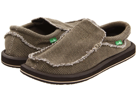 Sanuk Men's Chiba Shoe-Brown - Bennett's Clothing - 1