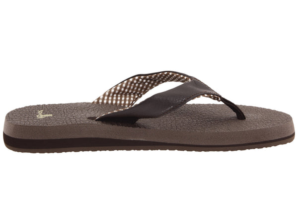 Sanuk Women's Yoga Mat Flip-flop-Brown - Bennett's Clothing - 4