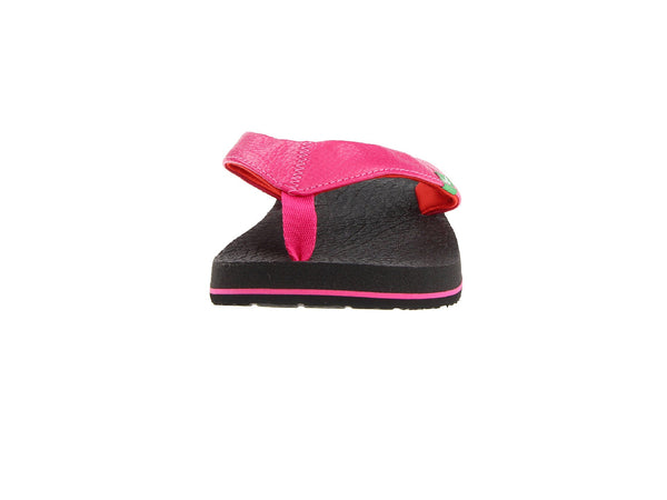 Sanuk Girls Yoga Mat Flip-Flops-Hot Pink/Red - Bennett's Clothing - 5
