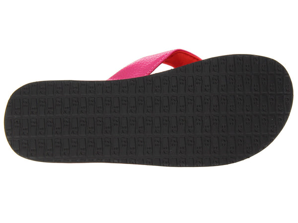 Sanuk Girls Yoga Mat Flip-Flops-Hot Pink/Red - Bennett's Clothing - 7
