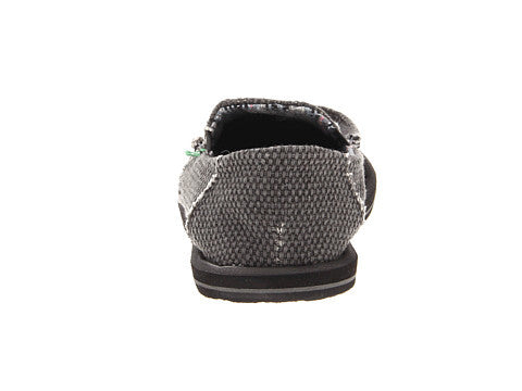 Sanuk Boy's Vagabond Slip-on Shoes-Black - Bennett's Clothing - 3