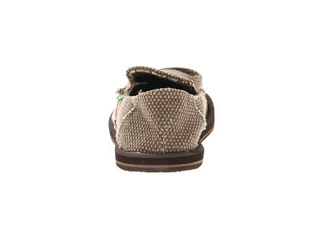 Sanuk Boy's Vagabond Slip-on Shoes-Brown - Bennett's Clothing - 3