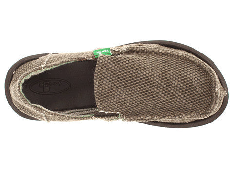 Sanuk Boy's Vagabond Slip-on Shoes-Brown - Bennett's Clothing - 5