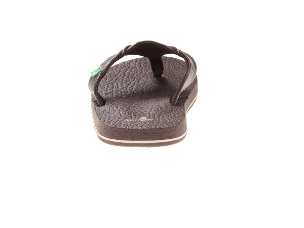 Sanuk Boy's Root Beer Cozy Flip-Flops-Brown - Bennett's Clothing - 3