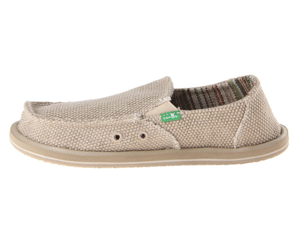 Sanuk Boy's Vagabond Slip-on Shoes-Khaki - Bennett's Clothing - 2