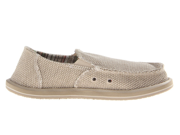Sanuk Boy's Vagabond Slip-on Shoes-Khaki - Bennett's Clothing - 4