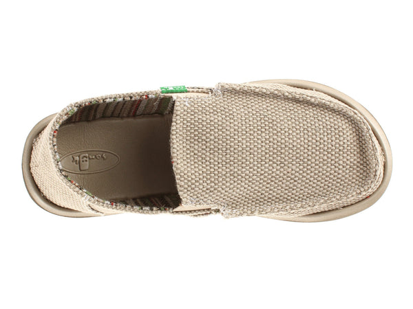 Sanuk Boy's Vagabond Slip-on Shoes-Khaki - Bennett's Clothing - 6