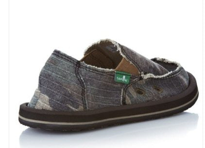 Sanuk Boy's Army Brat Shoes-Camo - Bennett's Clothing - 2
