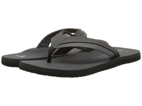 Sanuk Men's Beer Cozy Light Flip Flop-Black - Bennett's Clothing - 1