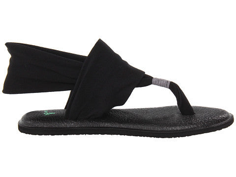 Sanuk Womens Yoga Sling 2 Sandal-Black - Bennett's Clothing - 2