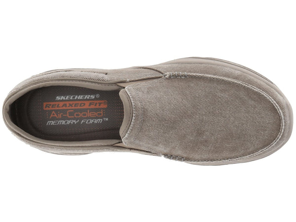 Skechers Creston Moseco Slip-on Relaxed Fit Loafer-Taupe