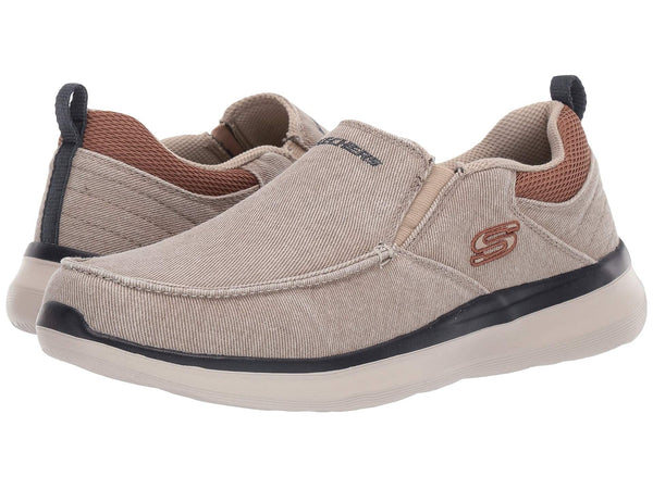 Skechers Delson 2.0 Larwin Loafer for men has a laid back-comfy fit that you will love. Bennetts Clothing for a large selection of mens shoes with great prices and same day shipping