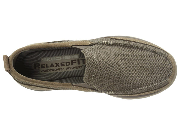 Skechers Superior Milford Relaxed Fit Loafer-Light Brown
