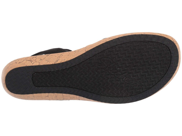 Skechers Brie - Lo'Profile Sandal-Black