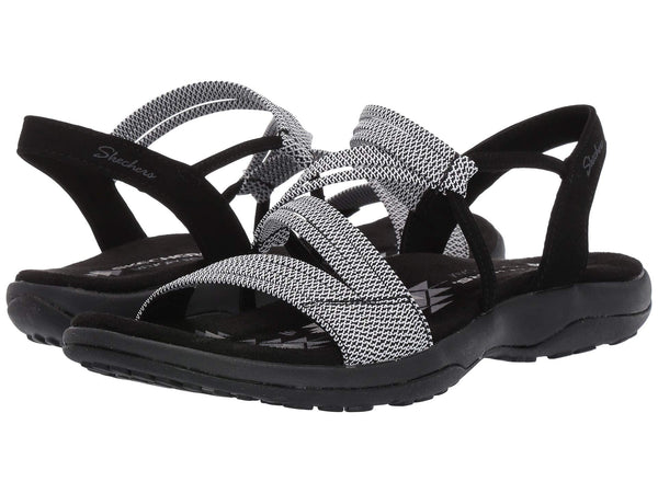 Skechers Reggae Slim Skech Appeal sandal is stretchy and easy to slip-on for a day in the rugged outdoors. Shop Bennetts Clothing for a large selection of womens sandals with great prices and same day shipping