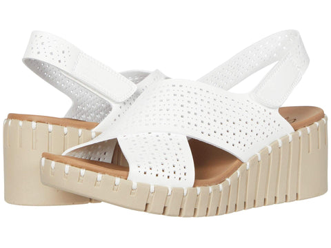 Skechers Pier Ave - Beach Chick slingback wedge sandal sets your style apart from the rest. Shop Bennetts Clothing for a large selection of womens sandals with great prices and same day shipping