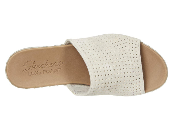 Skechers Pier Ave. Urban Escape Wedge Sandal-Taupe
