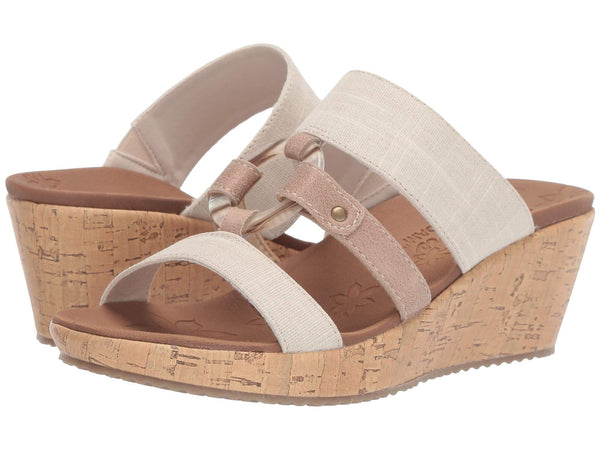 Skechers Beverlee Sail Away wedge platform sandal sets your style apart from the rest. Shop Bennetts Clothing for a large selection of womens sandals with great prices and same day shipping