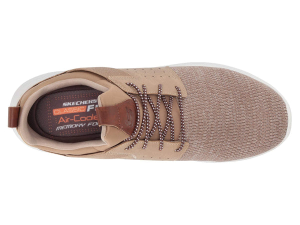 Skechers Delson Camben Classic Fit Slip-on Shoe-Light Brown