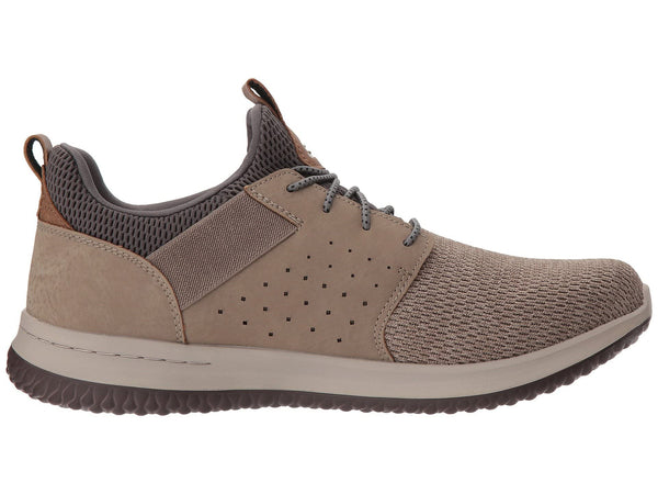 Skechers Delson Camben Classic Fit Slip-on Shoe-Taupe