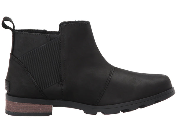 Sorel Women's Emelie Chelsea Pull-on Bootie-Black