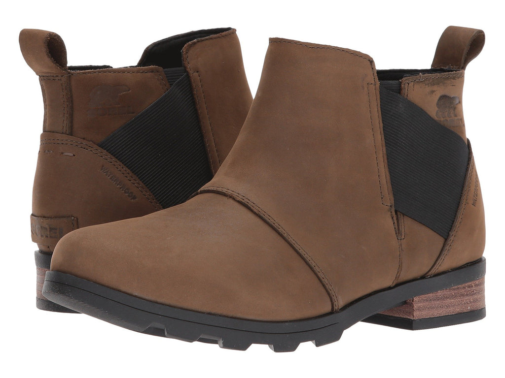 Sorel Emelie Chelsea boots are functional, fashionable, and waterproof. Shop Bennetts Clothing for the styles you need from the brands you love.