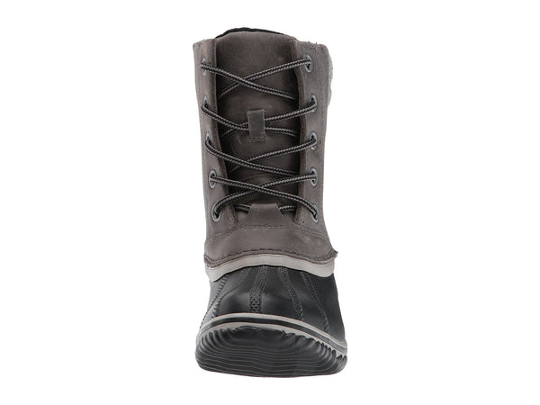 Sorel Womens Slimpack II Lace Boot-Quarry/Black