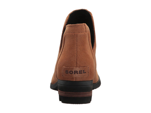 Sorel Womens Lolla Cut-Out Bootie-Camel Brown