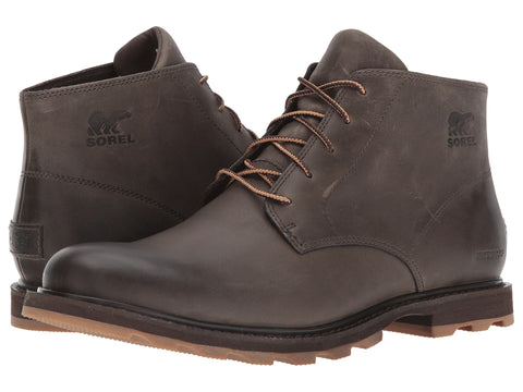 Mens Sorel Madson waterproof Chukka Boot -Shop Bennetts Clothing for the best in name brand menswear with same day shipping