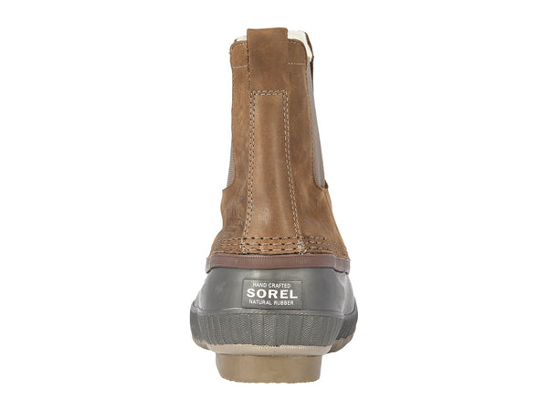 SOREL Mens Cheyanne II Chelsea Pull-on Waterproof Snow Boot-Umber-Buffalo