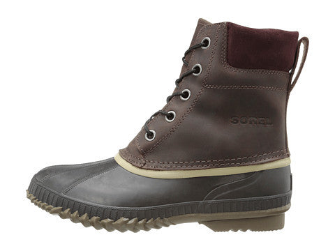 SOREL Mens Cheyanne Lace Snow Boot-Madder Brown-Stout - Bennett's Clothing - 2