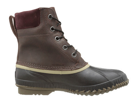 SOREL Mens Cheyanne Lace Snow Boot-Madder Brown-Stout - Bennett's Clothing - 4