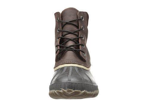 SOREL Mens Cheyanne Lace Snow Boot-Madder Brown-Stout - Bennett's Clothing - 5
