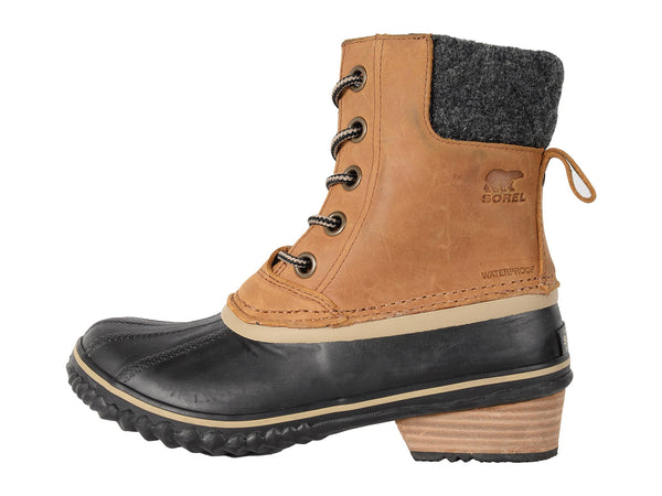 Sorel Womens Slimpack II Lace Boot-Elk/Black - Bennett's Clothing - 2