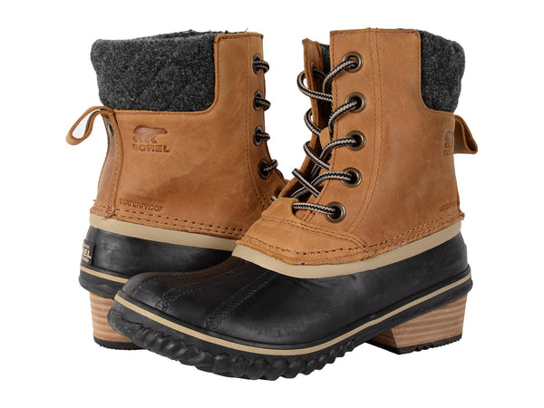 Sorel Womens Slimpack II Lace Boot-Elk/Black - Bennett's Clothing - 1