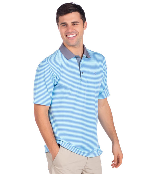 Southern Shirt Company King Street Pique Polo-Barnacle