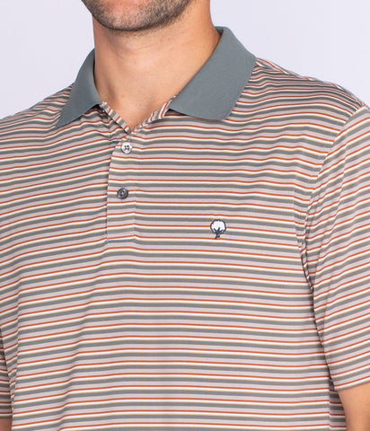 Southern Shirt Company Carson Stripe performance polo is comfortable and looks great on campus or the course. Shop Bennetts Clothing for the best styles of clothing from the brands you want.