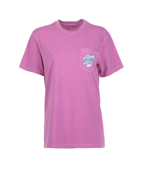 Southern Shirt Company Bae Watch T-shirt-Violet