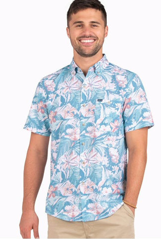 Southern Shirt Company Coco Cabana Baja shirt is hip and comfortable. Shop Bennetts Clothing for the best styles of clothing from the brands you want.