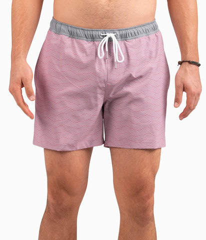 Southern Shirt Company Mojave Swim trunks stand out in the crowd. Stylish, functional shorts and mens clothing can be found at Bennetts where the customer is #1.
