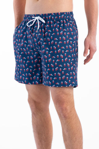 Southern Shirt Company Beer Pong Swim trunks make a statement while standing out in the crowd. Stylish, functional shorts and mens clothing can be found at Bennetts where the customer is #1.