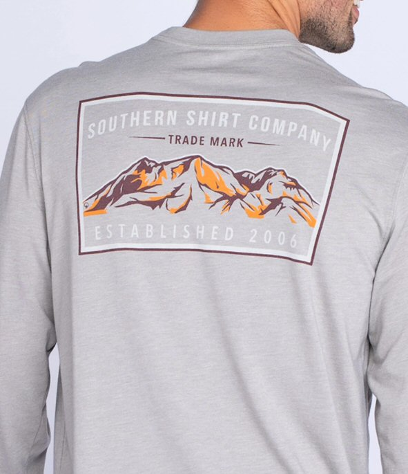 Southern Shirt Mountain Stamp T-shirt has a awesome feel with a laid back look. Shop Bennetts Clothing for the best styles of clothing from the brands you want.
