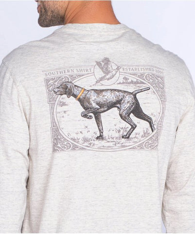 Southern Shirt Gun Dog T-shirt captures the hearts of bird hunters and dog lovers alike. Shop Bennetts Clothing for the best styles of clothing from the brands you want.