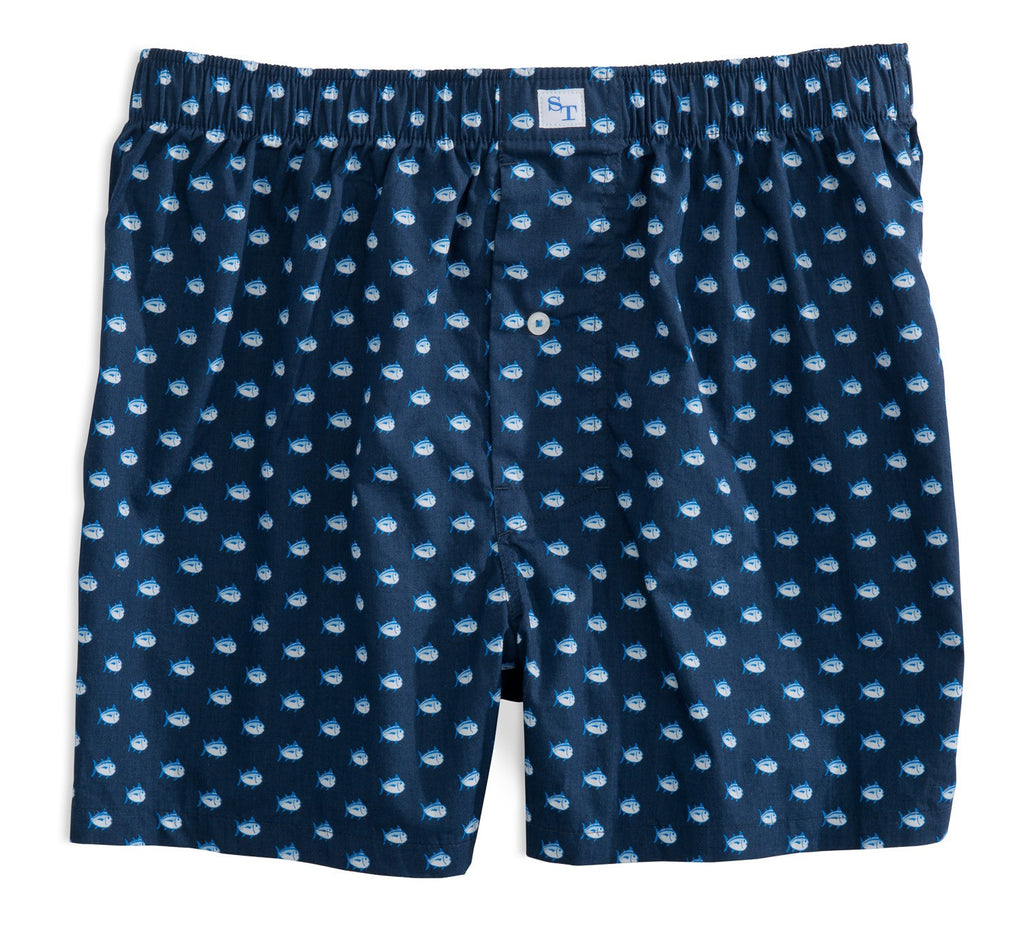 Southern Tide Men's Skipjack Boxer-True Navy - Bennett's Clothing - 1
