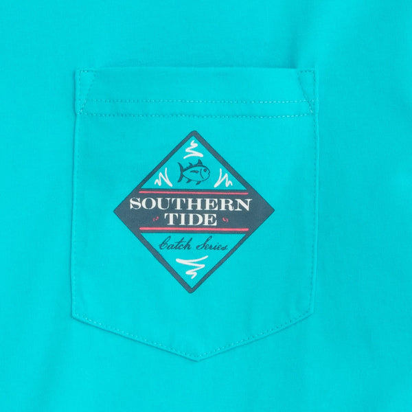 Southern Tide Catch of the Day T-Shirt-Scuba Blue - Bennett's Clothing - 2