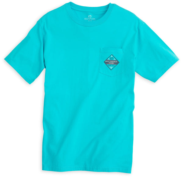 Southern Tide Catch of the Day T-Shirt-Scuba Blue - Bennett's Clothing - 3
